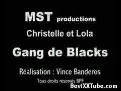 Christelle et lola Interracial Gangbang in France with mature girls. Light BDSM 2 months ago