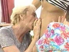 2 Grannies 2 mature women get fucked by a young man 2 months ago