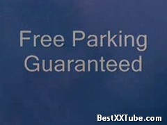 Free Parking Guaranteed Women in parking garage gets out of trouble with security guard. 2 months ago