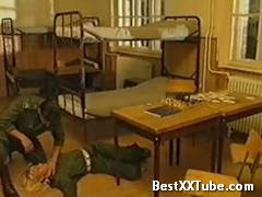 Anita Blond in the army Get it on in the army... 2 months ago