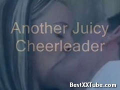 Another Juicy Cheerleader Multiple orgasms in a willing cheerleader. 4 months ago